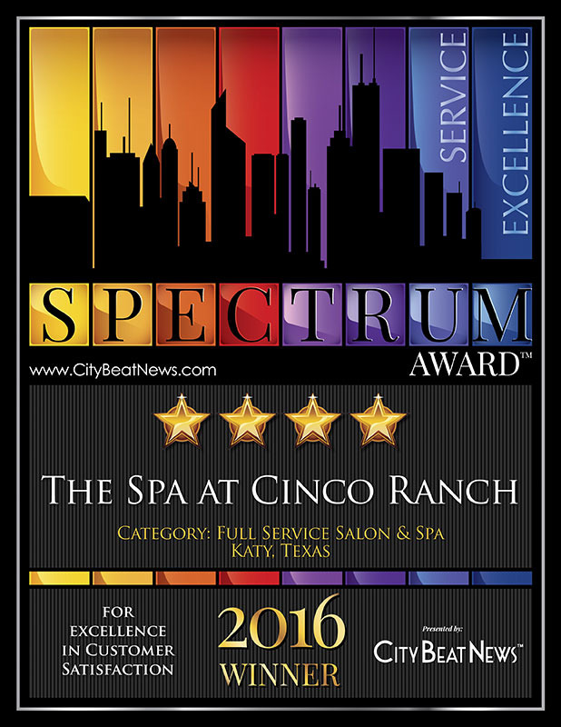 The Spa at Cinco Ranch Spectrum Award